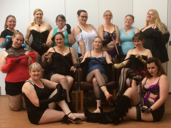 lovely friendly ladies having a girly time, lots of giggles